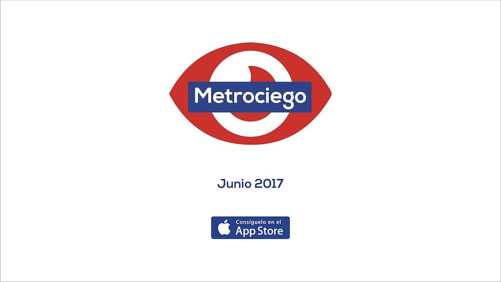 Metrociego Madrid, la app que te orientará en las estaciones miniatura de video del proyecto