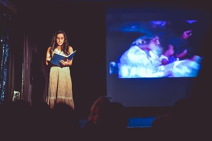 Tara Fatehi Irani at PUG#2. Photo by Chris Bishop.