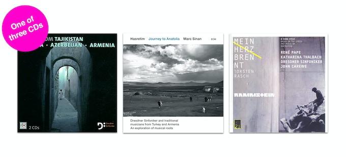Dresdner Sinfoniker CDs