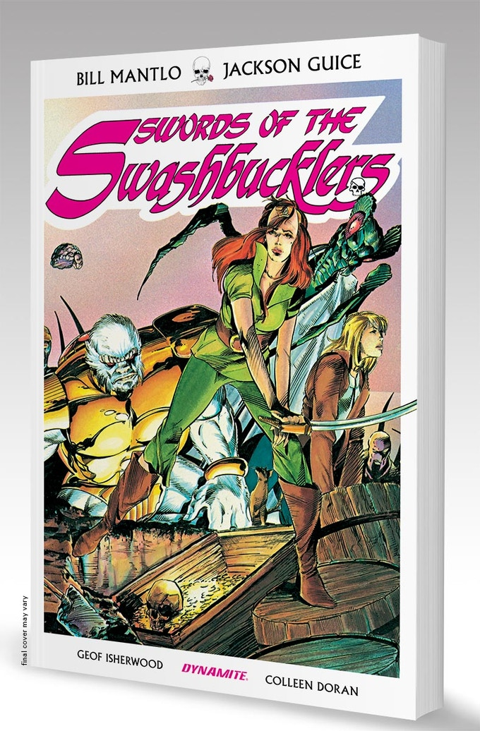Print Softcover Swords of the Swashbucklers Complete Graphic Novel