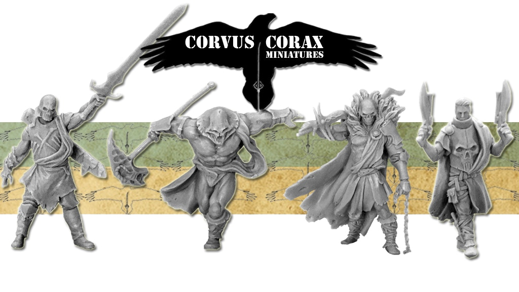 Project image for Corvus Corax Miniatures - Onwards (Canceled)