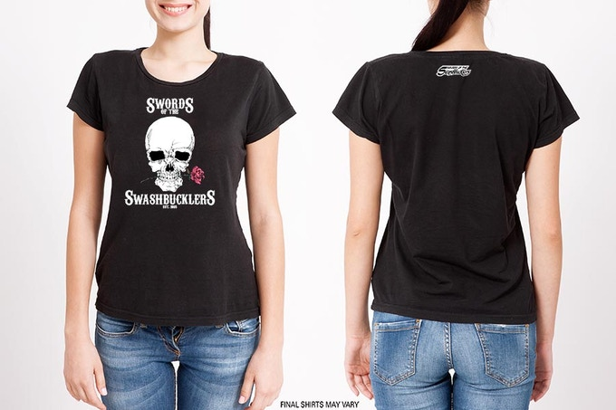 Swords of the Swashbucklers Women's T-Shirts