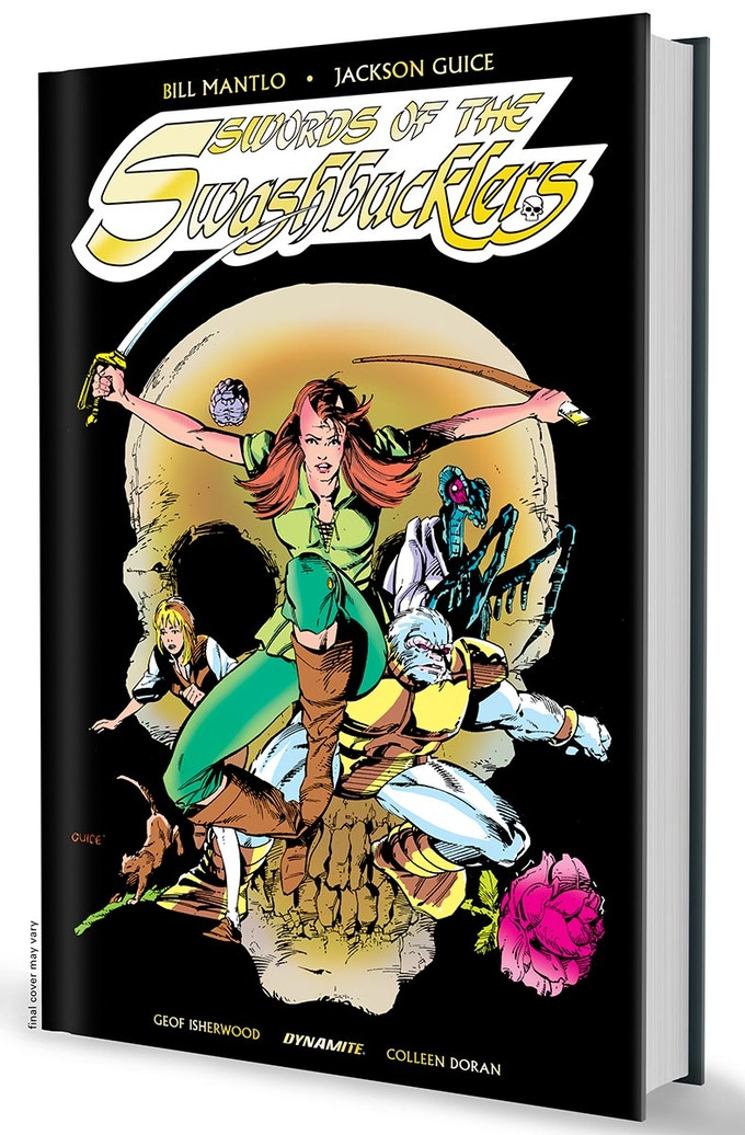 Print Limited Edition Foil Logo Hardcover Swords of the Swashbucklers Complete Graphic Novel
