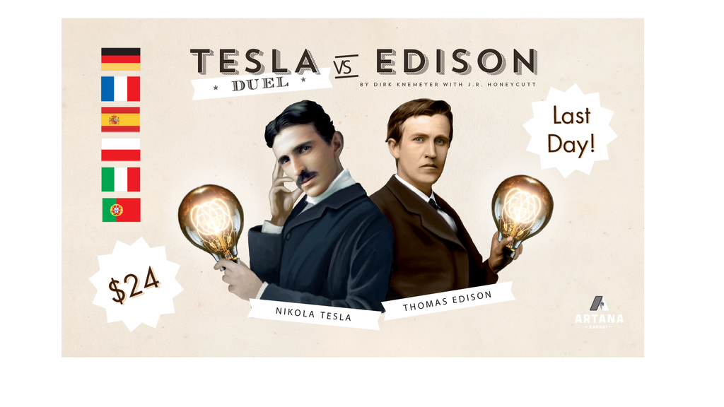 Tesla vs. Edison: Duel project video thumbnail