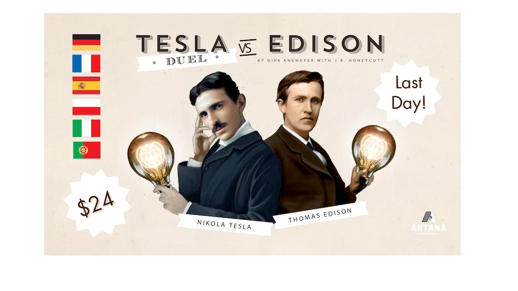 Tesla vs. Edison: Duel project video thumbnail