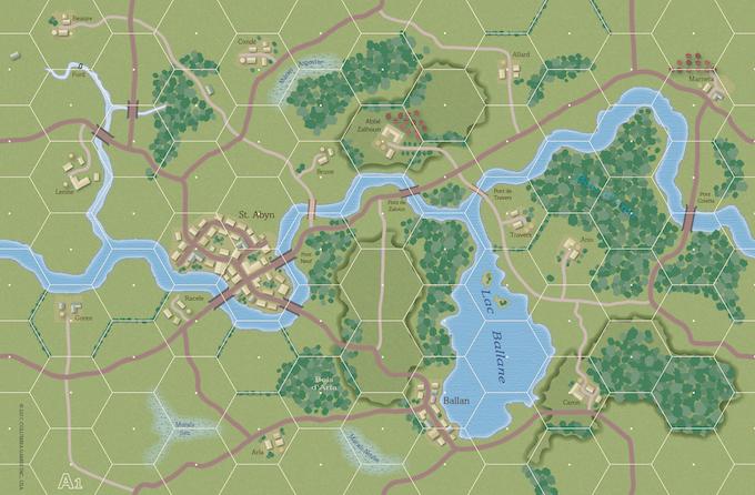 Combat Infantry Map
