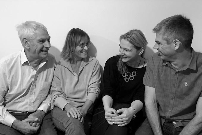 John, Petra, Regine and Steven. It's a family affair.
