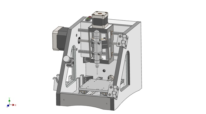 The MicroMill - A desktop CNC milling machine  by RP3d