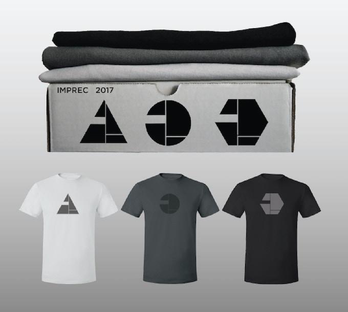 IMPREC 2017 - 3 Logo shirt box