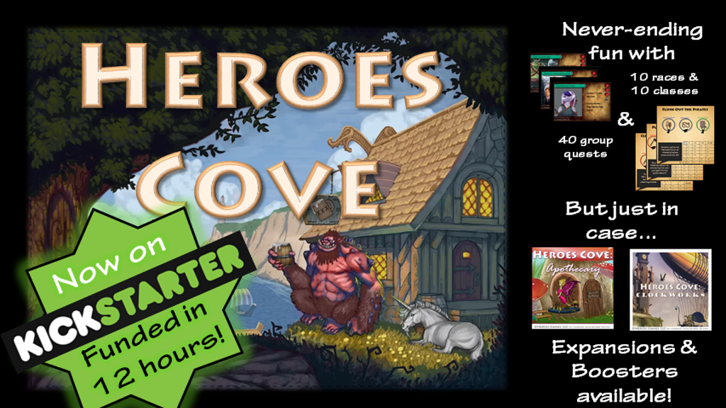 Heroes Cove: 30 Minute Adventure! project video thumbnail