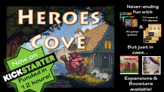 Heroes Cove: 30 Minute Adventure!