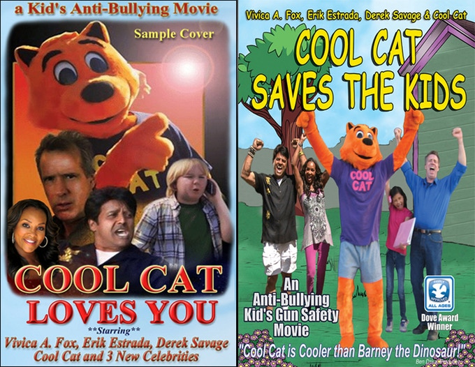 """""""Cool Cat Loves You"""" sample cover. We'll have a Twitter poll to help pick the favorite."""