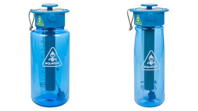 1000mL and 650mL Aquabots