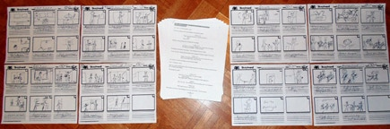 Seven New Scenes and Storyboards