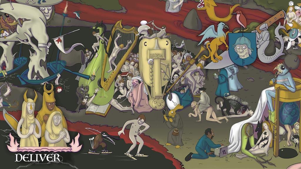Deliver: A Comic Adventure Through Bosch's Garden project video thumbnail