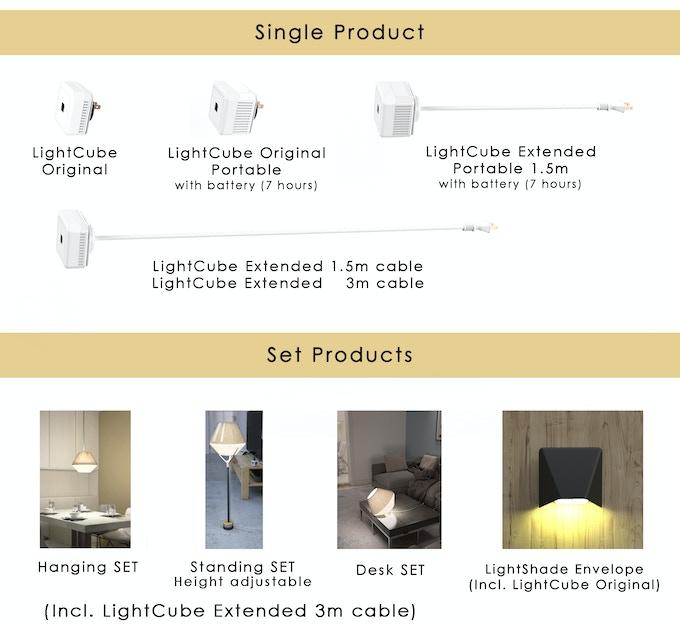 LightCube pledges options