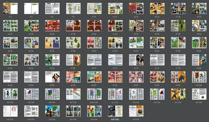 The whole book in InDesign