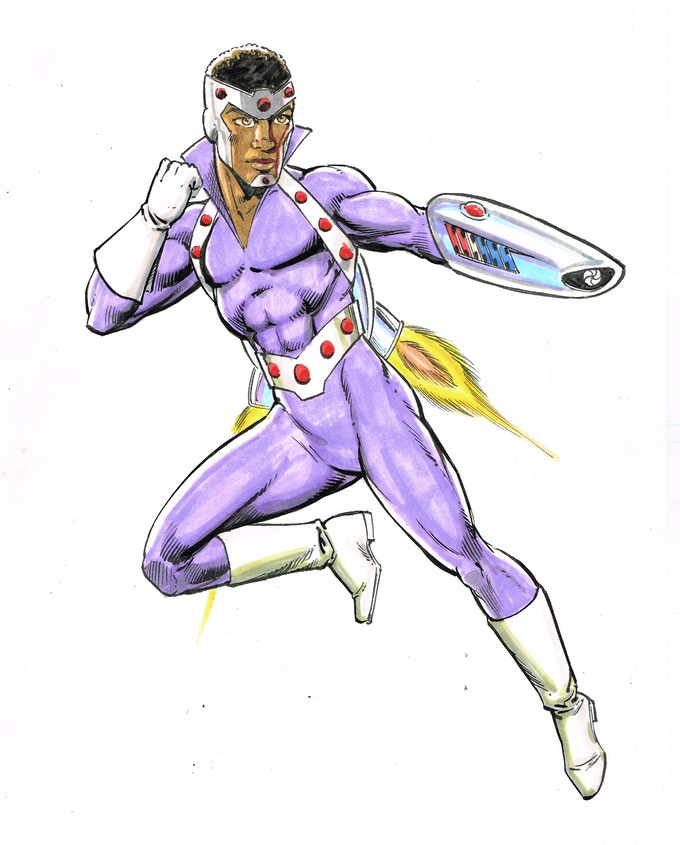 Scalar, pencils by Jim McClain, inks and colors by Joe Rubinestein