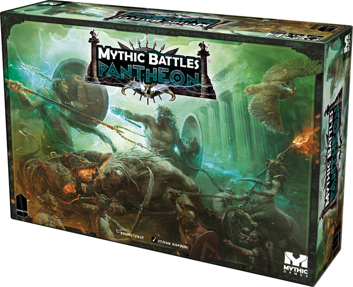 Become an Olympian God and fight beside the greatest heroes and monsters to ever live in this beautiful miniatures board game.
