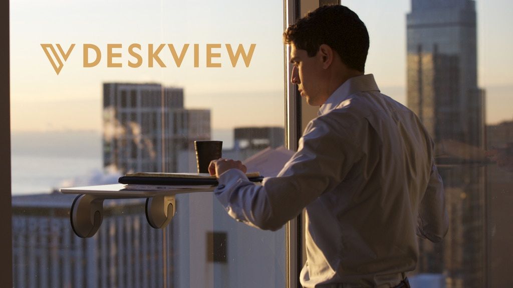 Deskview: The World's First Window-Mounted Standing Desk project video thumbnail