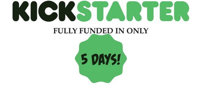 FUNDED IN 5 DAYS!!!!