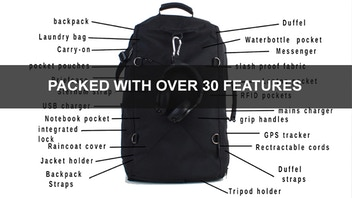 The TripPro travel bag