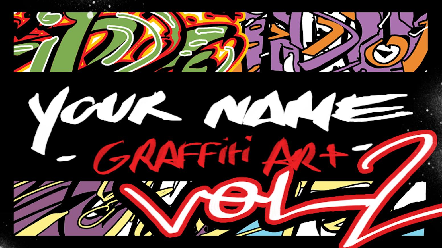 Your name graffiti art vol 2