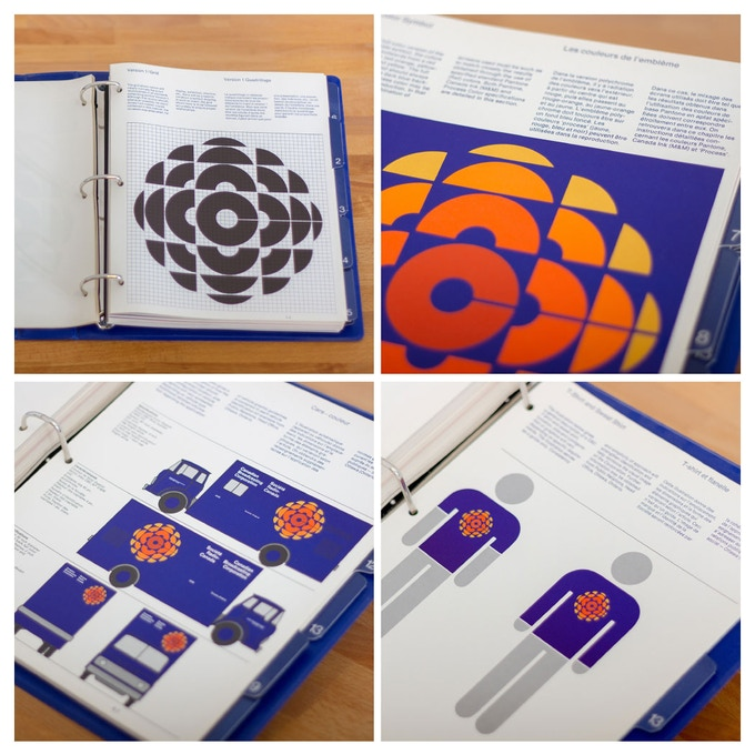 Photographed pages from the original manual