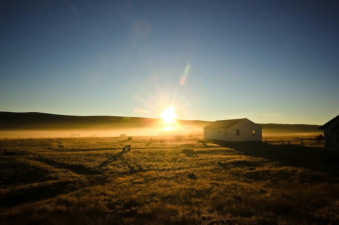 Bright new days are ahead for Buffalo Peaks Ranch and the Cook's House! Photo by Jay Halsey