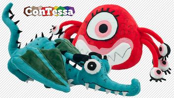 Plush ConTessa Mascots