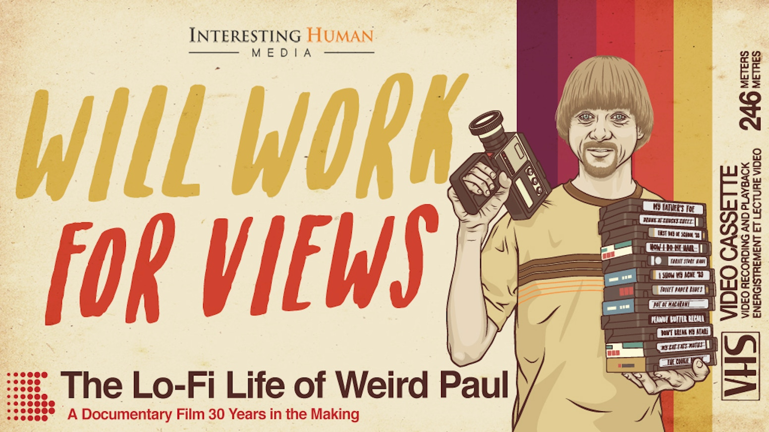"A film exploring the life of ""Weird Paul."" After 30 years, 2000 videos, 800 songs, & 42 albums, he's still not giving up on his dream."