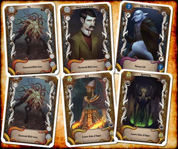 Entities Cards