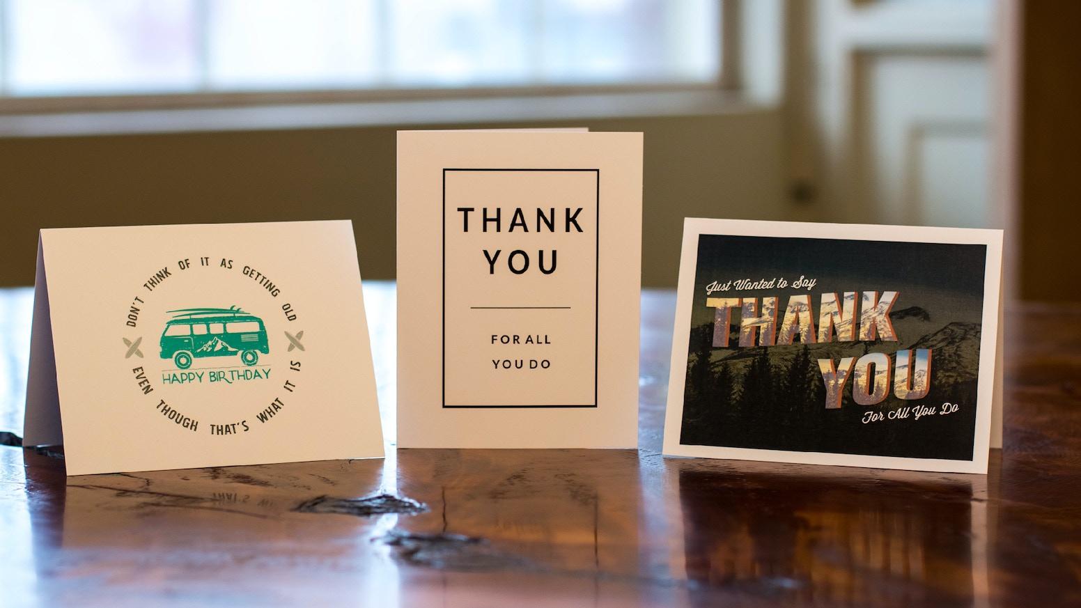 Classy Greeting Cards By Erik Johnson Kickstarter