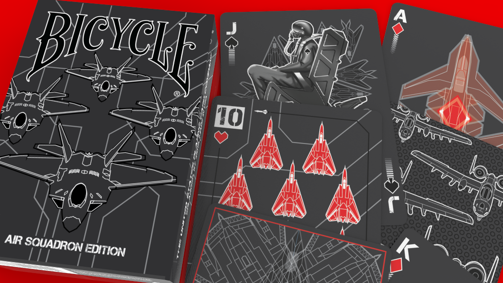 Air Squadron Bicycle Playing Cards project video thumbnail