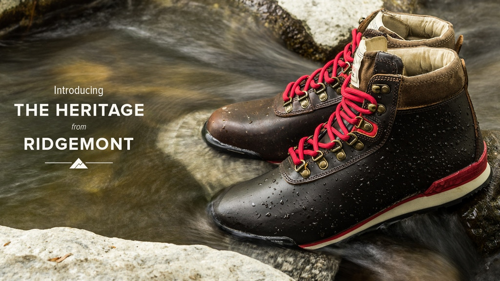 The Heritage Boot, by Ridgemont project video thumbnail