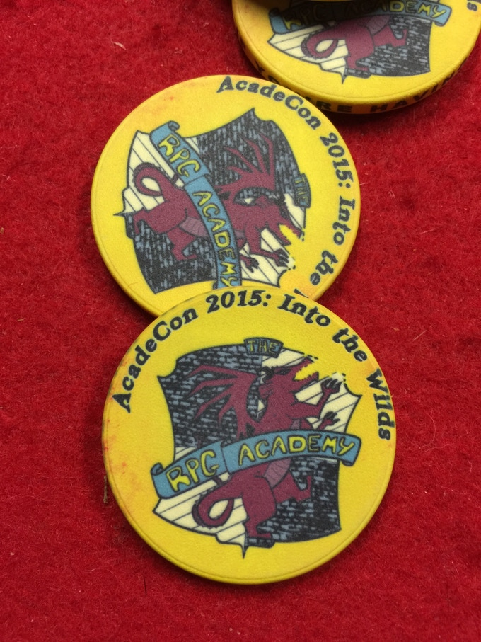 Tokens from AcadeCon 2015