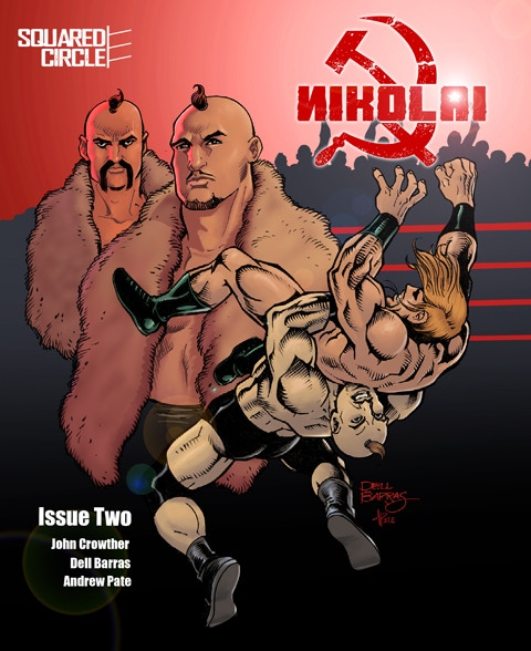 The Standard Edition Cover for NIKOLAI 2! A VERY Limited Number of SIGNED Copies are Available!