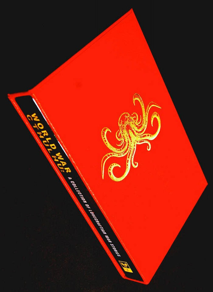 World War Cthulhu Deluxe Hardcover Edition Published by Dark Regions Press (Sold Out)