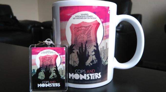 The Cops and Monsters Mug and Keyring Set!