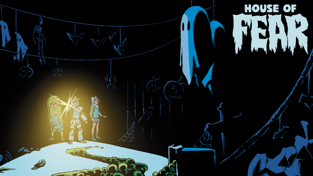 House of Fear: A scary, Lovecraftian comic for kids project video thumbnail