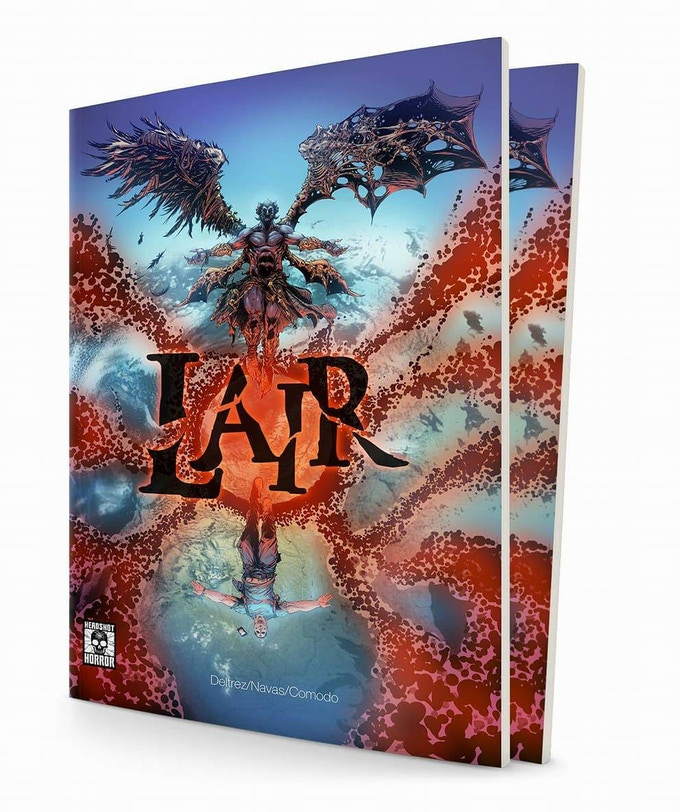 Digital/Physical copy of LAIR Graphic Novel (60pp)