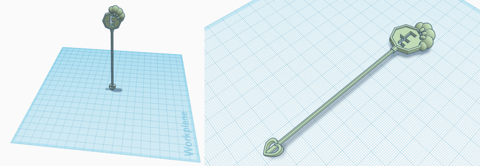 If you'd like a stirrer for your cocktails, you can also download the 3D printable file for this!