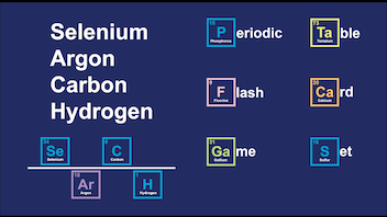 Selenium Argon Carbon Hydrogen [SeArCH] Periodic Table Game