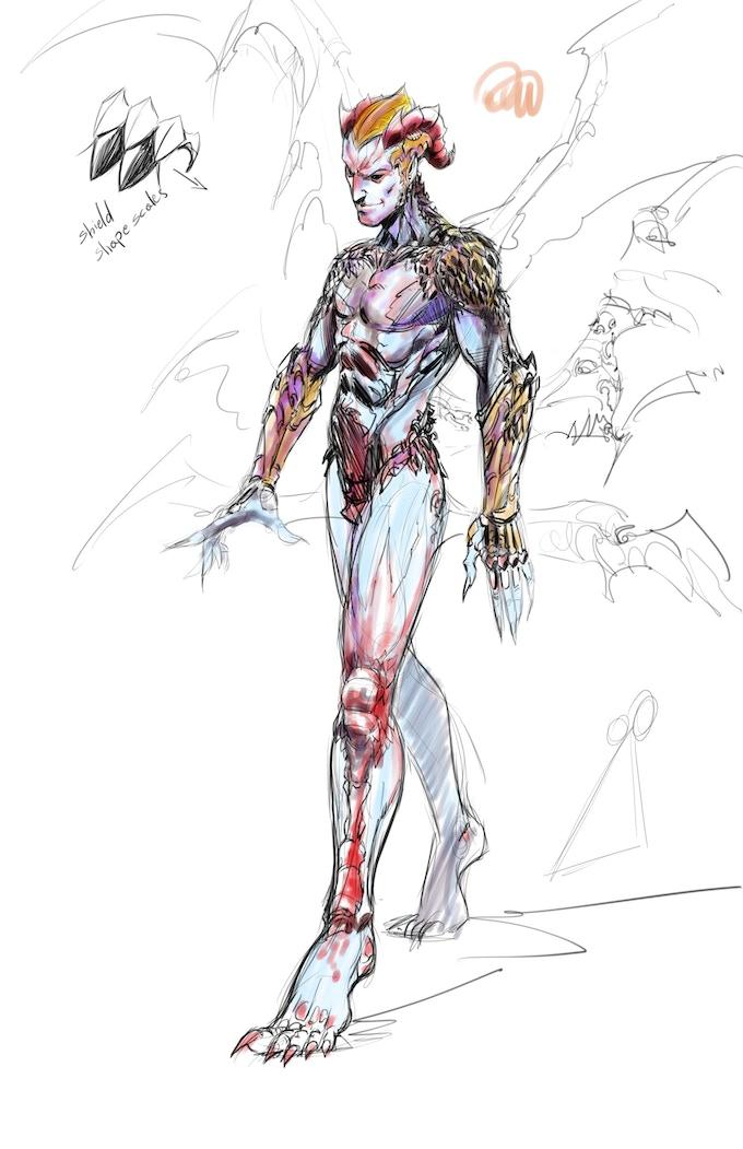 KAGRAN Pre-wings (color test) concept