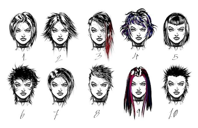 Vaye hairstyles concept