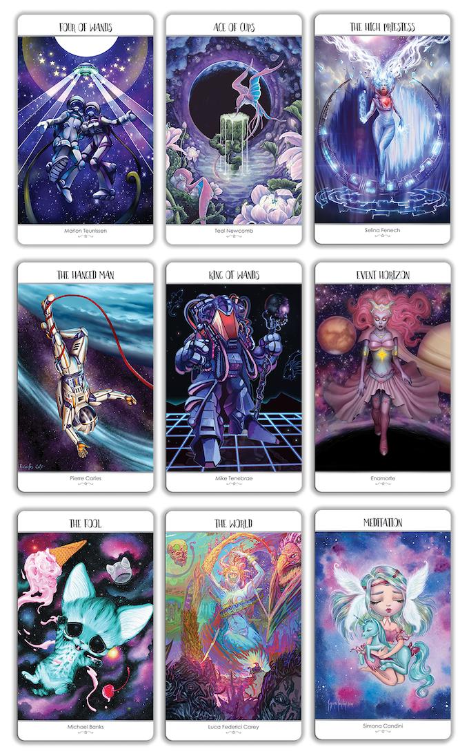 78 Tarot Astral By Kayti Welsh —Kickstarter