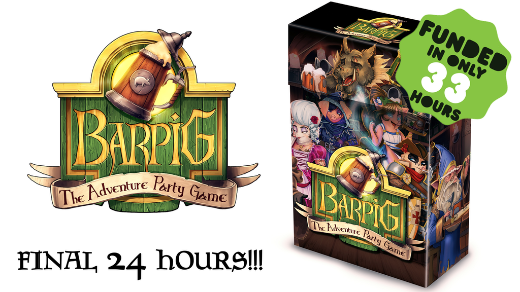 BARPIG - The Adventure Party Game project video thumbnail