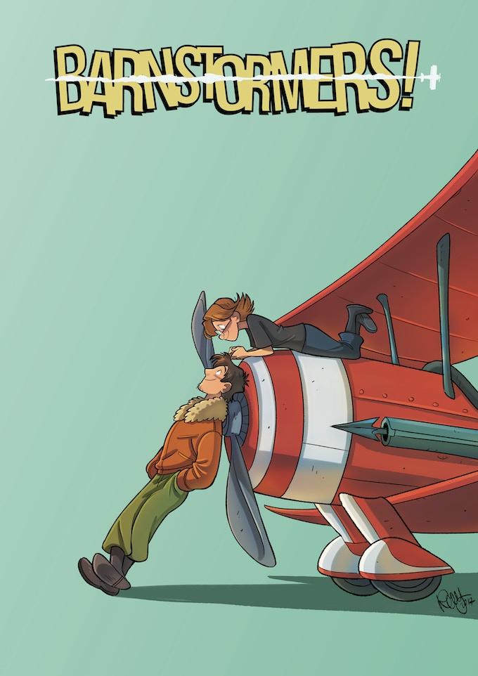 Barnstormers! Mini Poster