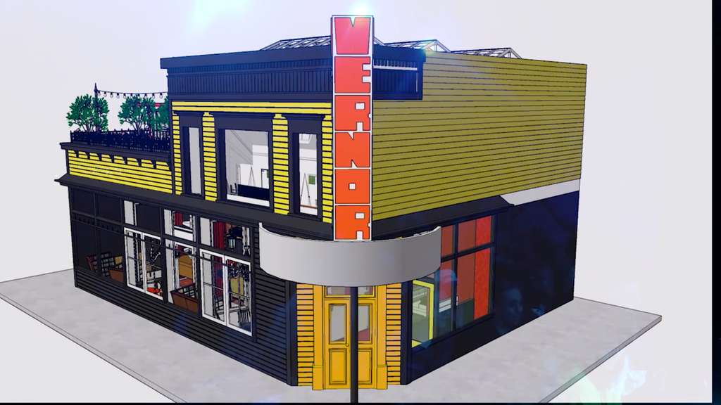 The Vernor Cafe project video thumbnail