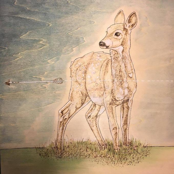 Original art by Karen Blanquart